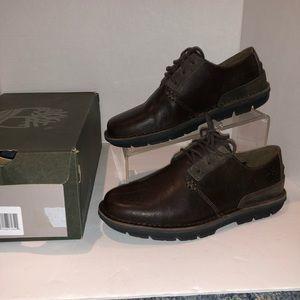 Timberland Coltin Low Dark Brown Dress Shoes Sz 7